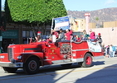 Christmas Parade 2014 Fire Engine